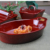 Factory Direct Sale Red Glaze Baking Dish Set Rectangle Baking Pan Baker Baking Tays Set