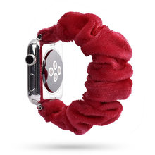 Женский ремешок для часов Apple Watch 38 мм/40 мм 42 мм/44 мм, повседневный эластичный ремешок для iwatch(Китай)