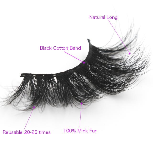 Faux cils 4d synthétique faux cils cachemire de vison pas cher cheveux