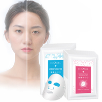 Wholesale Private Label Oem Sheet Organic Facial Whitening Hydrating Face Mask Mascarillas Coreanas