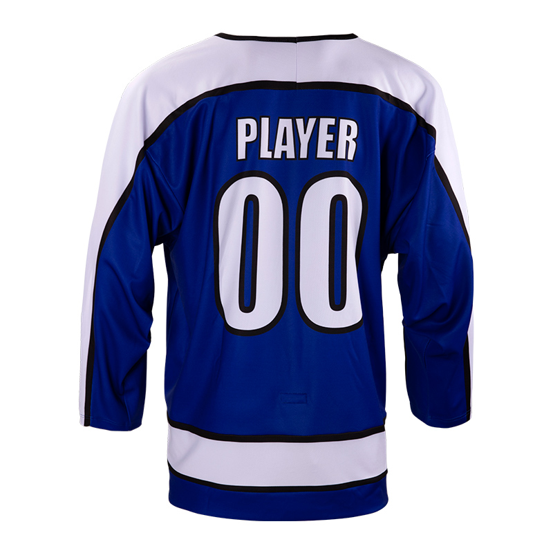 Custom Blank Practice Ice Hockey Wear Sublimated No Minimum Dry Fit Quick Dry Breathable Men Ice Hockey Jersey