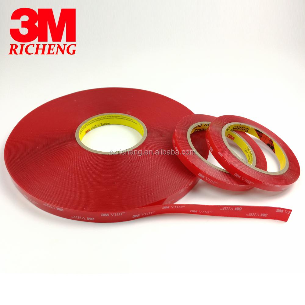 Electrónica Craft 3 M cinta de espuma de acrílico para la industria automotriz construcción montaje