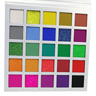 Oem Low Moq 25 Colors White Vegan Sombras High Pigment Makeup Glitter Custom Cheap Private Label Eye Shadow Eyeshadow Palette