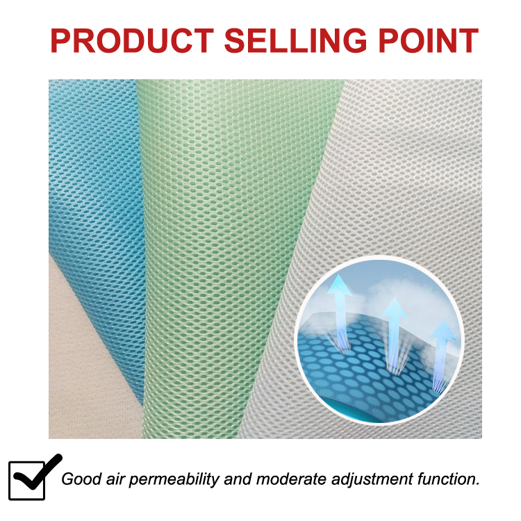 China supplier good quality best price tricot mattress fabric 100% polyester