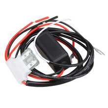 Universal 12V On Off Delay Cerdas LED <span class=keywords><strong>Siang</strong></span> <span class=keywords><strong>Hari</strong></span> Berjalan Lampu Modul Flasher Wire Harness Dimmer Switch Mobil DRL Controller