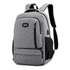 2020 new china supply high end quality fashion smart usb port college school laptop backpack bag