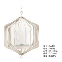 Люстра железная подсвечник настенная садовая домашняя для внутреннего дворика подвесная декоративная уличная железная свеча уличная ламп...(Китай)