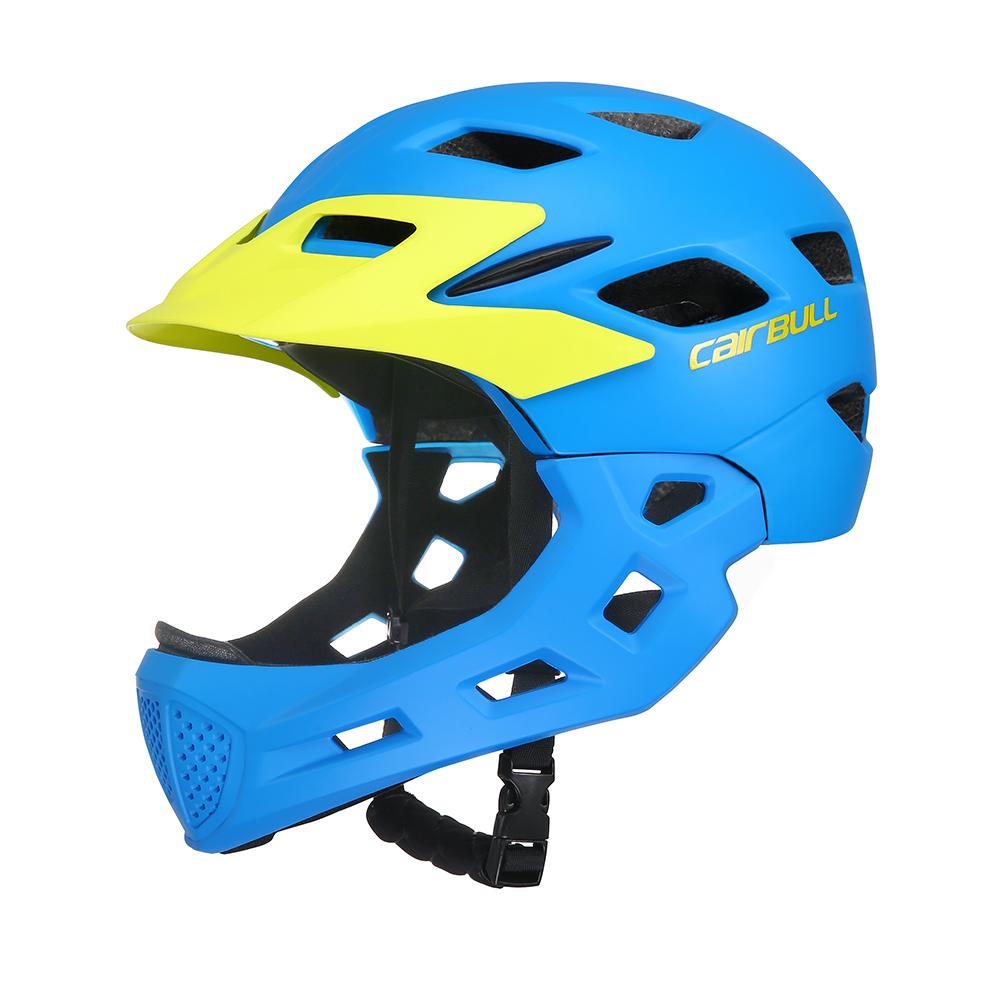 CAIRBULL RUNTRACK Nova Crianças Skating Ciclismo capacete de Equitação Capacete Da Bicicleta Com Destacável Chinguard CE Certificated