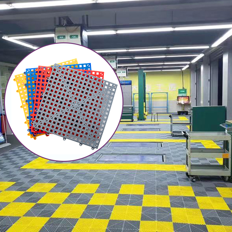 Multi-Usos claro grande de plástico de alfombras de piso para la casa