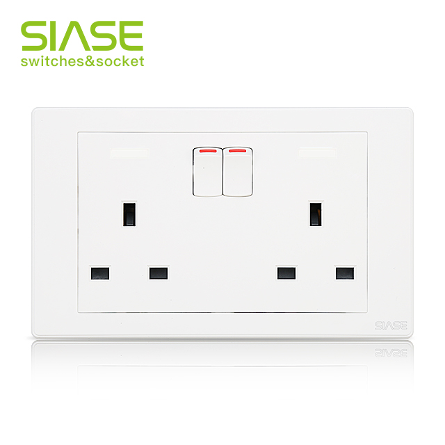 ทนไฟ 13 amp Wall Mount Socket