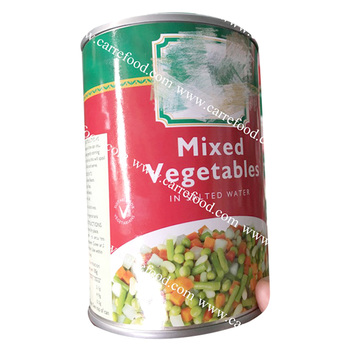 Canned mixed vegetables / Canned mix vegetables beans/ Canned Green Peas and Carrots