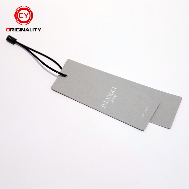 Eco-Friend Recycled Garment Brand Tag Label Price Rfid Hang Tag