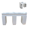 KANGZHIMEI wholesale nail table desk white with dust fan