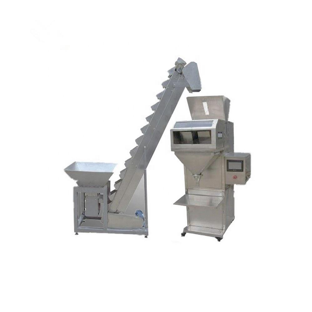 Semi Automatische Reis/Muttern/Korn/Samen/Bohnen/Granulat Wiegen Füll Maschine
