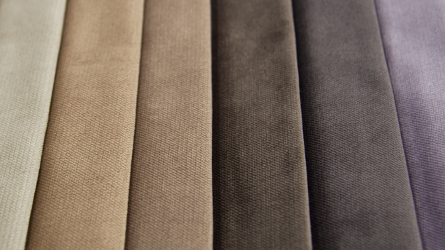 Twill velvet fabric uphostery in china for sofas