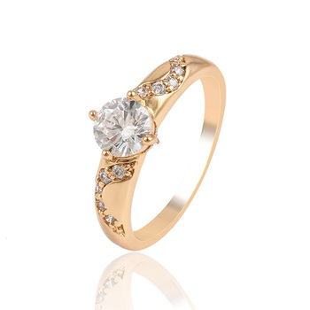 13959 Xuping engagement wedding ring, big diamond rings jewelry women, cheap price 18k gold ring