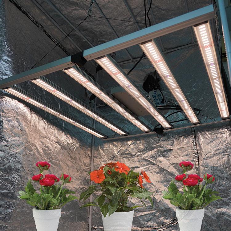 Meijiu Full Spectrum Horticulture, Plant Lights for Indoor Plants, 650W Medical Plant Commercial LED Grow Light Bar