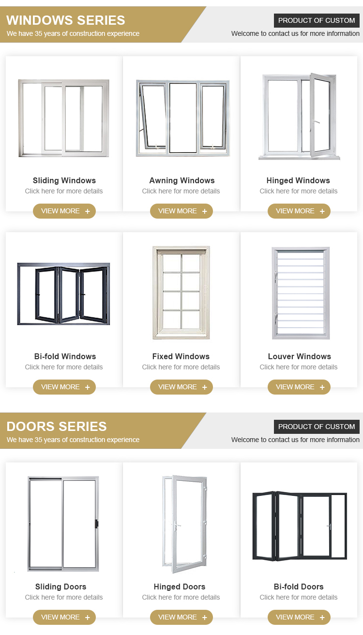 Wholesale modern designs bedroom Black Aluminum frame 2 panel sliding glass door prices
