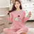 Wholesale new design Sleepwear One set High quality New cute nighty Wholesale one set Chinese Long Sleeve Women Pajamas