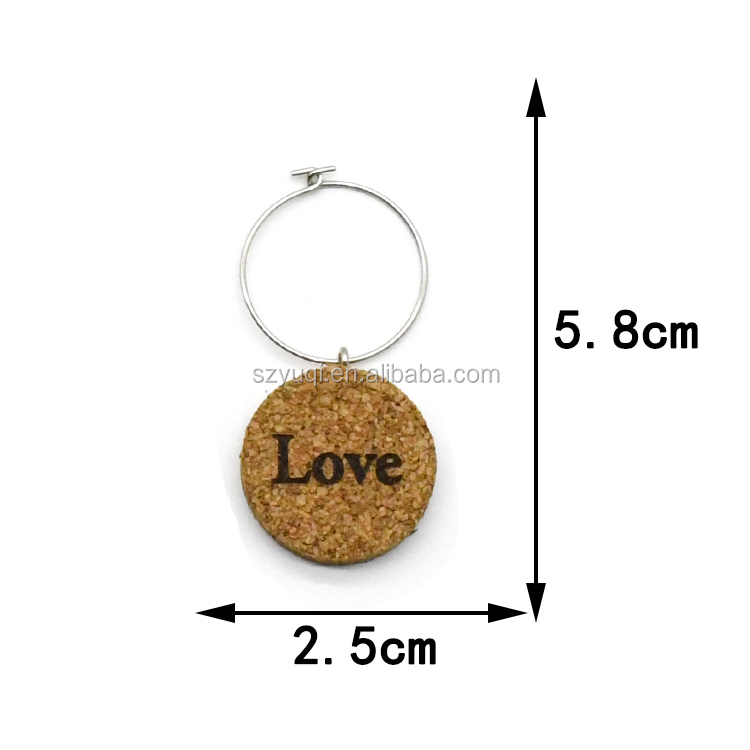 2020 new arrivals custom logo wholesale design wooden charms