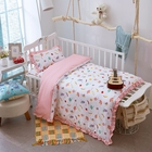 Free Shipping cotton baby crib sheet bedding set
