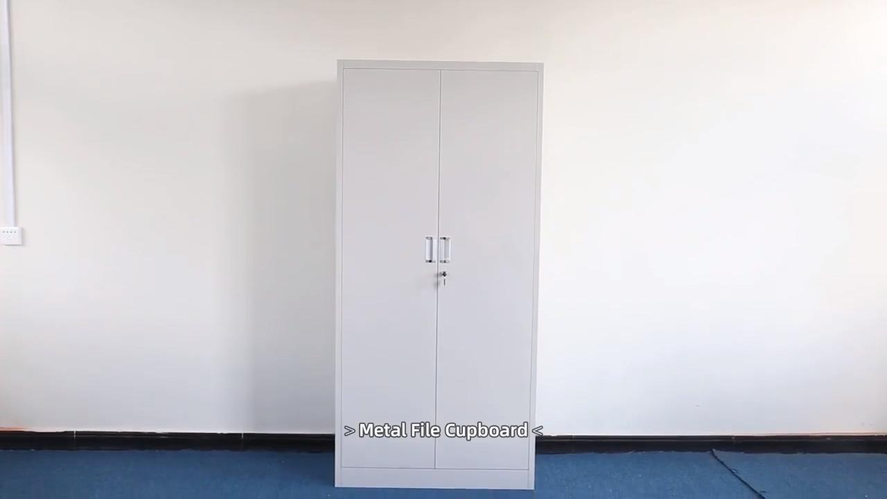 Đen Nhà Để Xe Thép Lưu Trữ Tủ/Văn Phòng Giá Rẻ Kim Loại Hồ Sơ Tủ