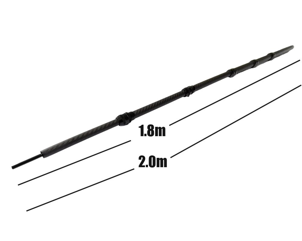 High quality customized 3k telescopic carbon fiber poles tubes