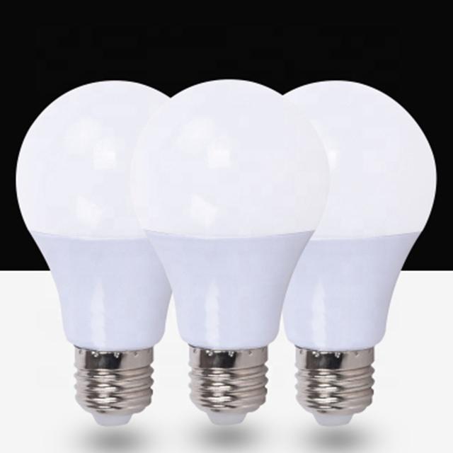 Energy saving 3000k 6500k led bulb lights 5w 9w 12w 15w 18w plastic and aluminum U type 5w led lamp bulb for office