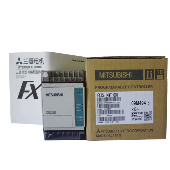 New MITSUBISHI Programmable Logic Controller FX1S-14MT-001