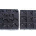 golden blister plastic chocolate packing PP PET PS tray