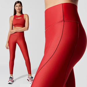 Wholesale Custom High Waisted Butt Lift Fitness Yoga Wear Pants OEM Yoga Clothing Plus Size Women Leggings Gym Workout Leggings