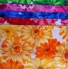flower design of Wholesale Stock lot 100% Polyester mattress fabric for hometextile
