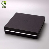 eco friendly custom luxury paper gift box packaging with lid