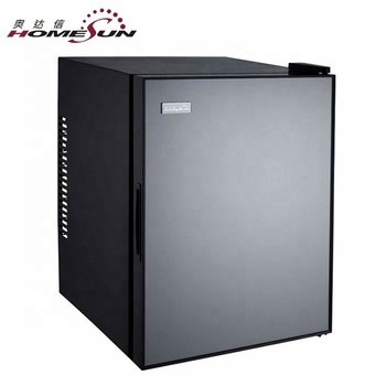 BCH-40B OEM custom 40L no noise hotel smart silent minibar for hotel nofreon