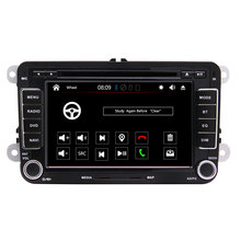 Universal Doppel 2 Din WIN CE 7 inch Touch Screen Auto Dvd Player für VW jetta passat
