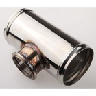 "UNIVERSAL 2.5"" TAIL 50MM BLOW OFF VALVE STAINLESS STEEL FLANGE PIPE TUBE"