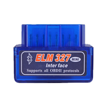 Auto Diagnostic Tool FCC CE Blue Color Car Diagnostic Tool Wireless Mini Elm327 V2.1 Bluetooth 2.0 Android Scanner Obd2