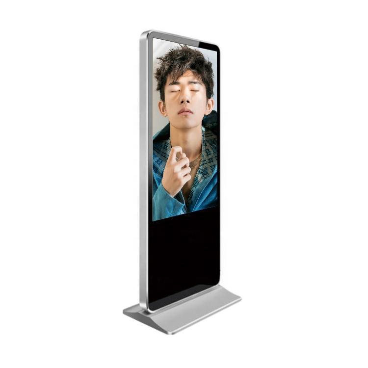 factory direct supply 43 49 55 65 inch outdoor led totem floor stand digital signage lcd display advertising screen