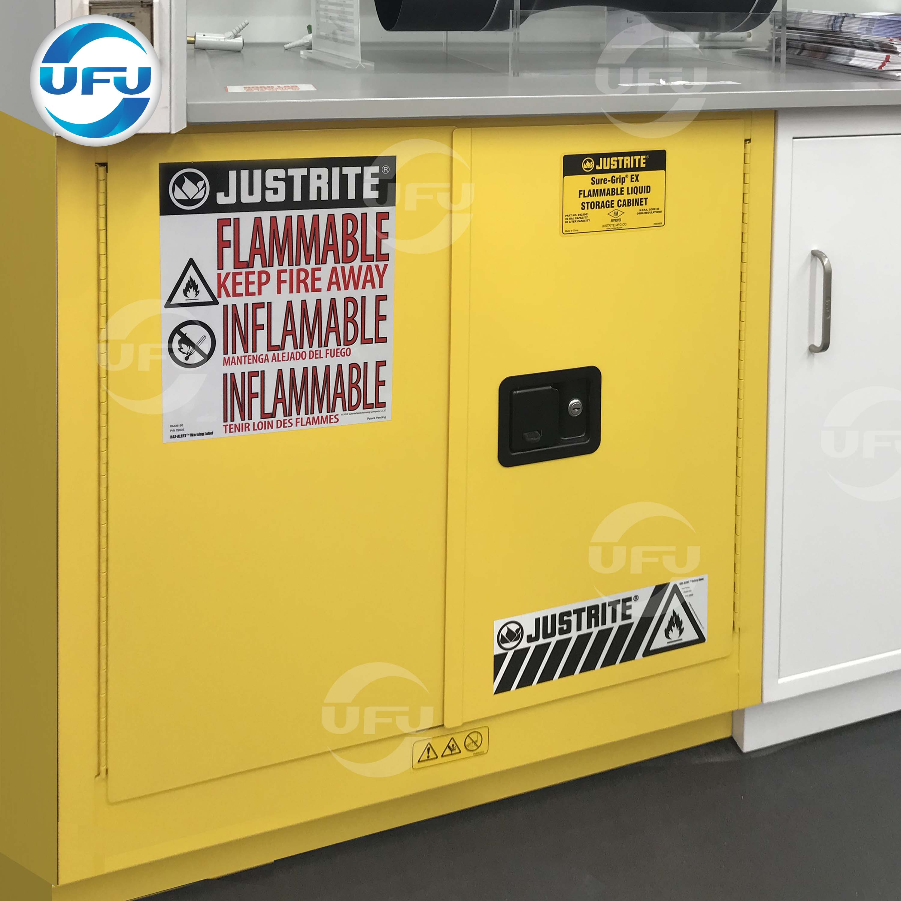Laboratory Anti Explosion Cabinet Flammable Safety Cabinet View 30 45 60 90 Gal Flammable Cabinets Safety Cabinets Justrite Product Details From Shanghai Ufu Laboratory Equipment Co Ltd On Alibaba Com