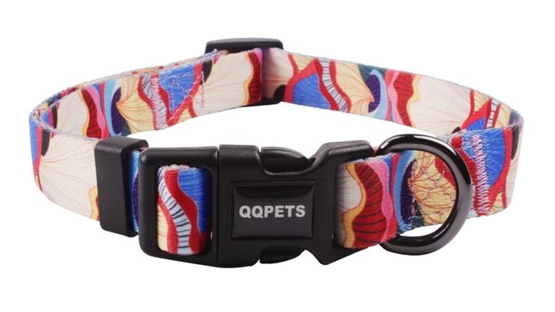 Manufacturer sublimation multi colors personalized logo pet collars custom wholesale