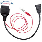 For Fiat 3 Pin Alfa Lancia to 16 Pin OBDII OBD2 obd-II connector Adapter Auto Car Cable obd For fiat 3pin Cable