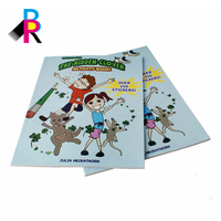 coloring children sticker books printing