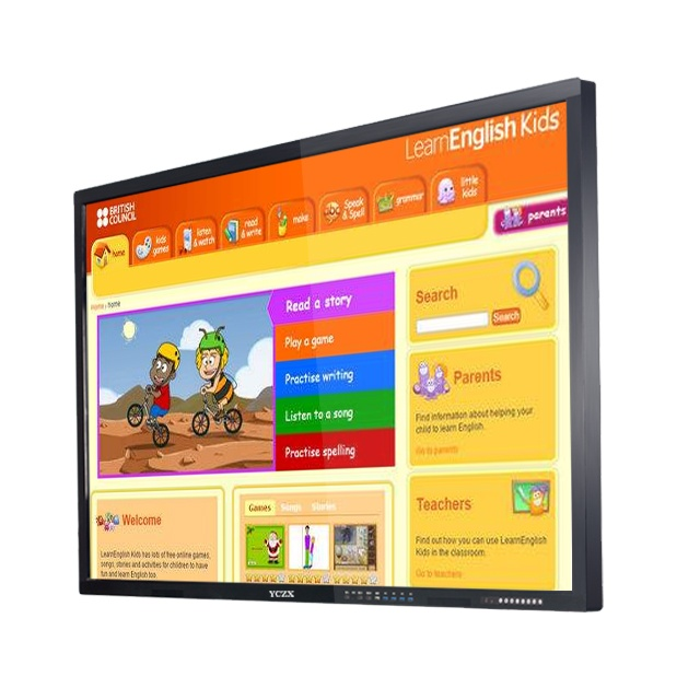 FactoryPrice75&quot; multi touch electronic IR interactive whiteboard/smart <strong>board</strong> with no projector for school/classroom