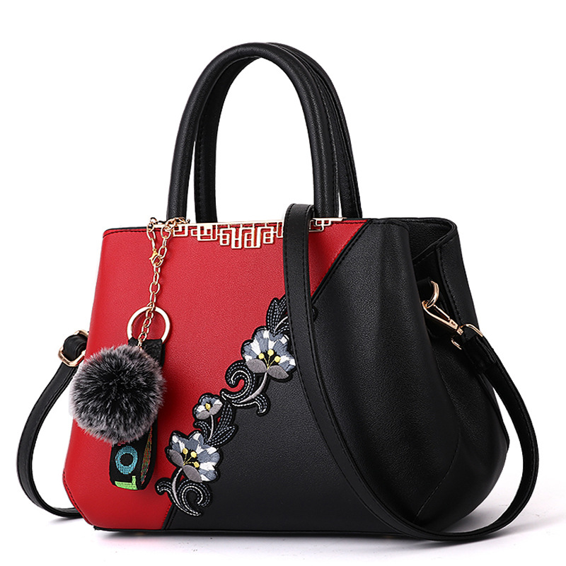 <strong>Women</strong> Top Handle Satchel Handbags PU Leather Bags Zip Closure Shoulder Tote-Bag
