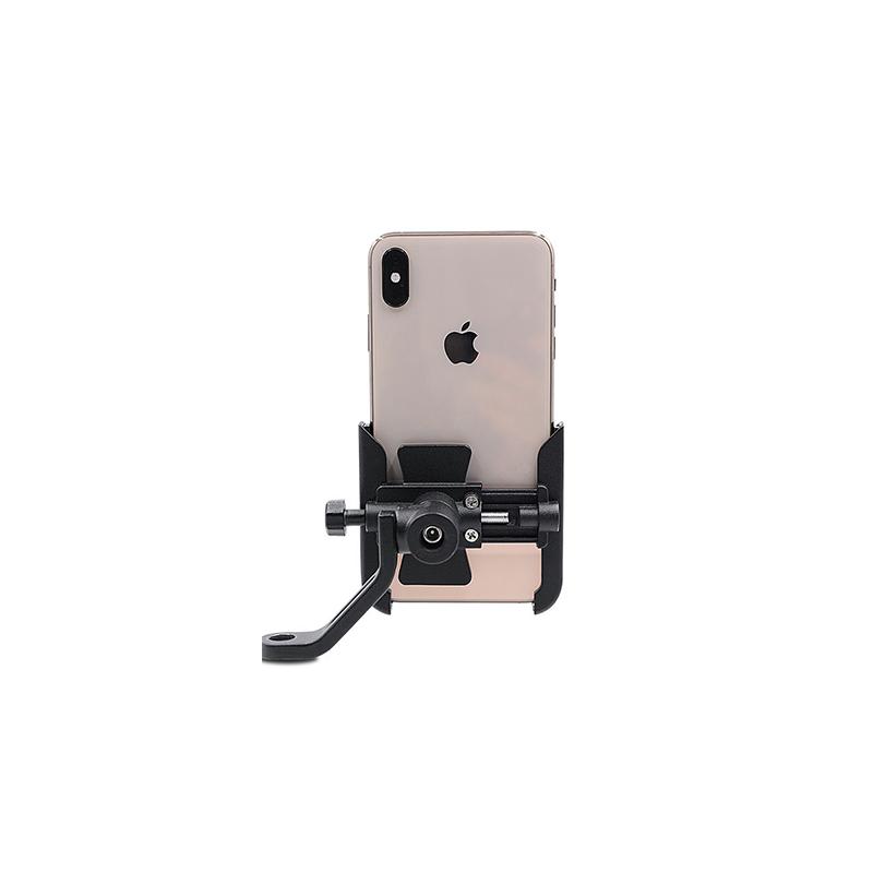ホット販売アルミ合金オートバイ/バイク 360 角度調整可能な携帯電話マウントホルダー自転車電話ホルダー