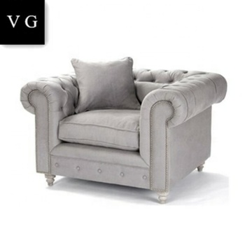 Single Sofa Releax Wooden Couch