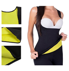 Wholesale Women and Men Sweat Suit Body Shaper Slimming Shirt Loss Weight Polymer Waist Trainer Sweat Sauna Vest