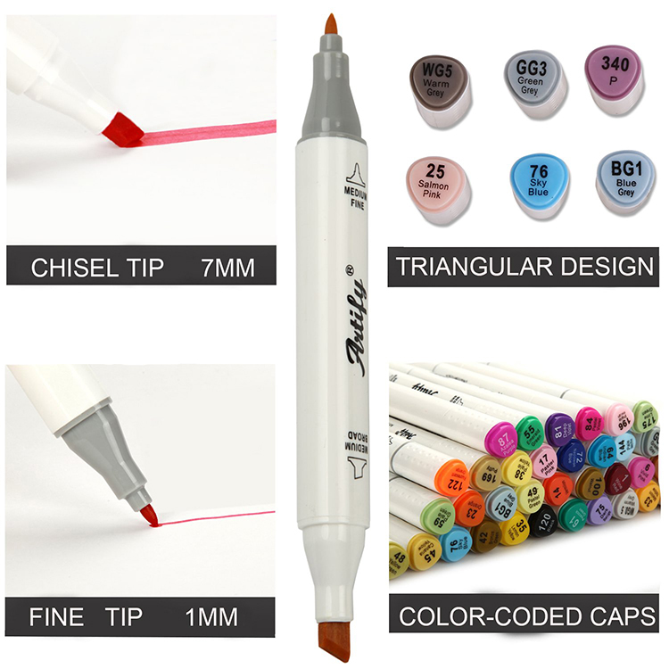Best selling washable marker pen for school body paint light board brand writing on the glass two color