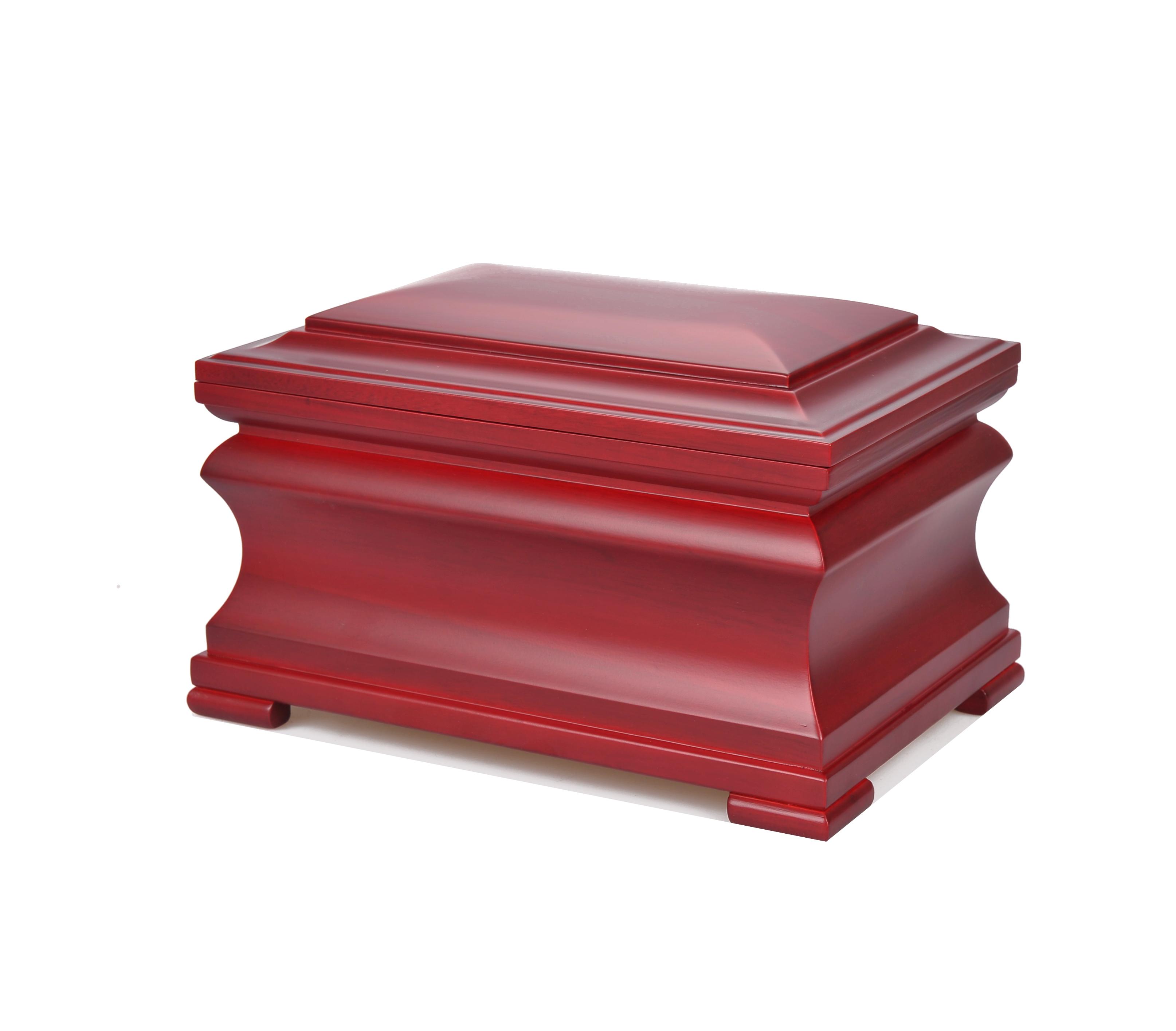 MKYA009 toptan cenaze antik kremasyon urn insan toptan ahşap tabut çekici sevilen insanlar