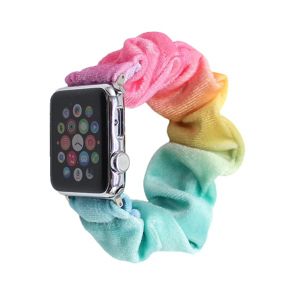 Wholesale Apple Watch Accessories 38mm/40mm/42mm Apple Watch Scrunchie Band Stainless Steel For Women